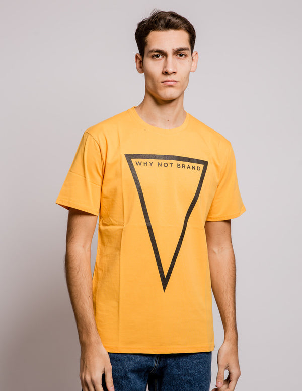 Triangle Tee Orange