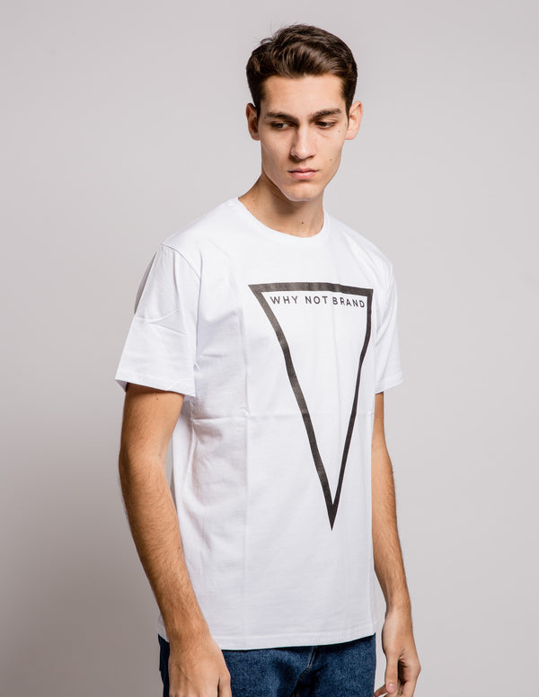 Triangle Tee White
