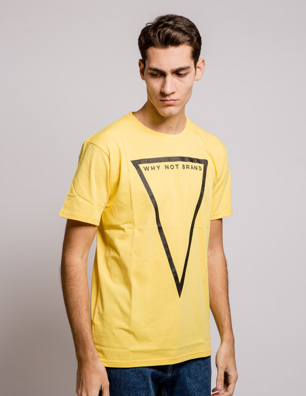 Triangle Tee Yellow