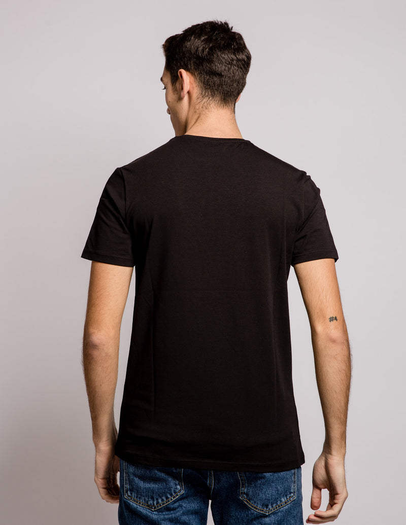 Ultra Slim Tee Black