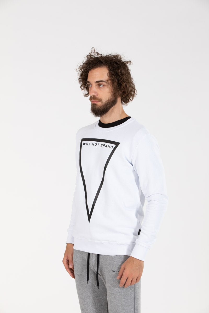 Triangle Sweat White