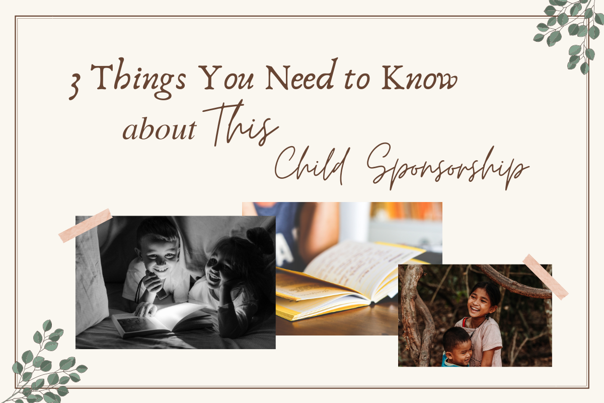 3 Things You Need to know about this child sponsorship