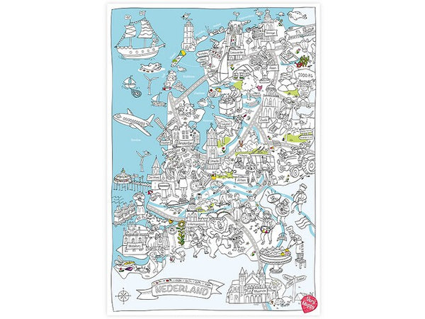 Verry Mappy XL Map Netherlands Speelgoed .