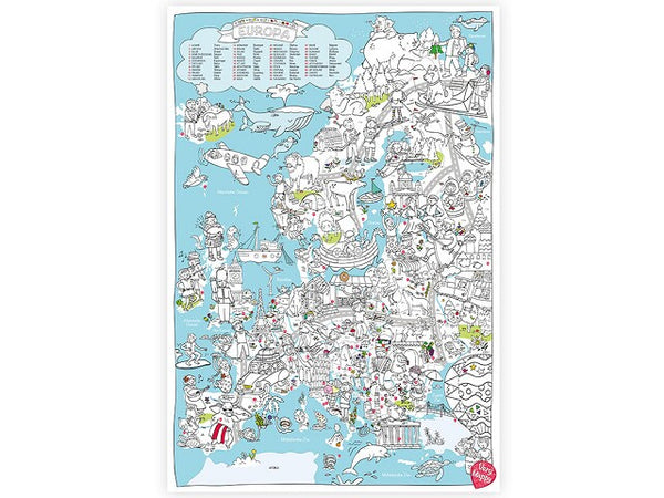 Verry Mappy XL Map Europa Speelgoed .