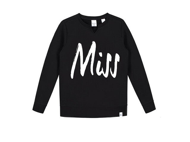 Nik & Nik Sweater Miss black Sweaters 128