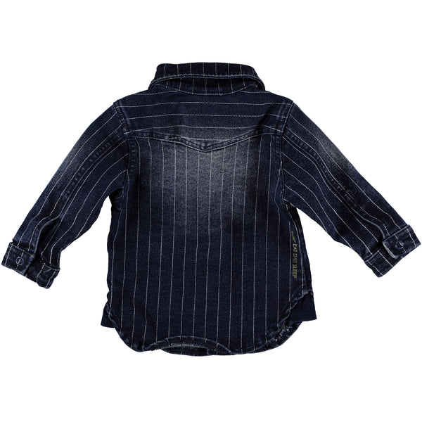B.E.S.S. Blouse Denim Striped