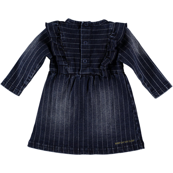 B.E.S.S. Dress Denim Striped