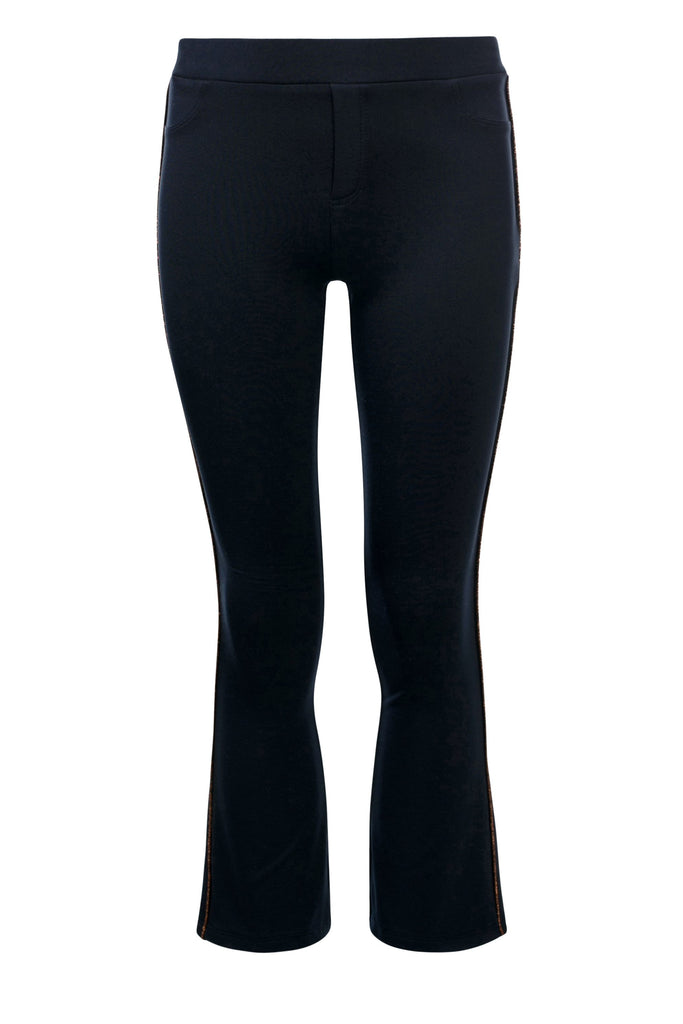 Meisjes Little sweat flair pants van Looxs Little in de kleur Navy in maat 128.