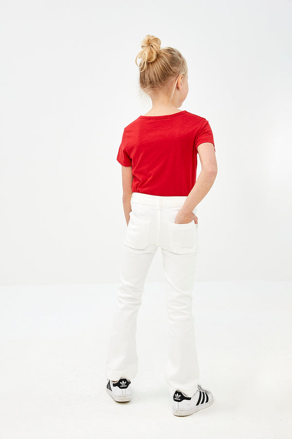 By-Bar Girls Leila Pant off-white