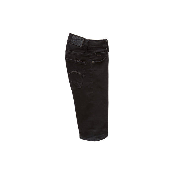 Jongens Bermuda van G-Star Raw in de kleur Black in maat 128.