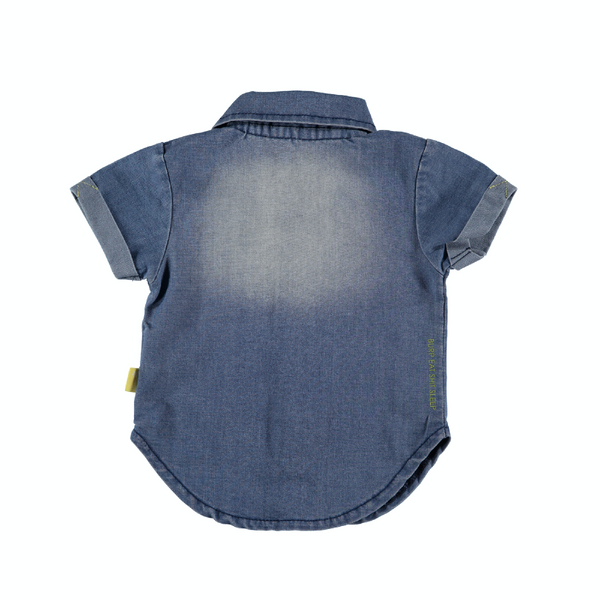 B.E.S.S. Blouse Denim sh.sl