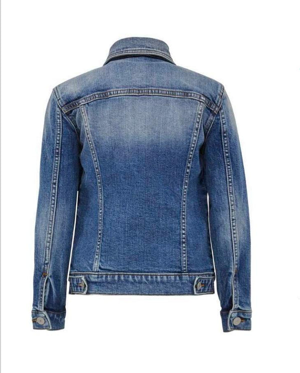 Jongens Jeansjacket SANTINO B van LTB in de kleur NEWLAND UNDAMAGED WASH in maat 176.