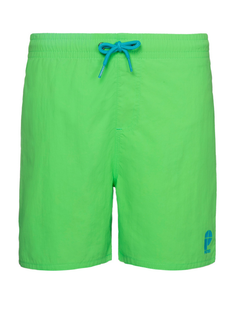 jongens Culture Beachshort van Protest in de kleur True Blue in maat 176.