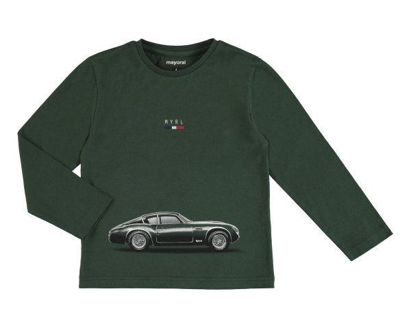 Mayoral Longsleeve Shirt Cars