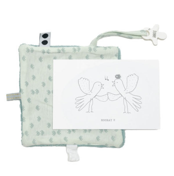 Snooze Baby Giftcard Bird Gray Mist