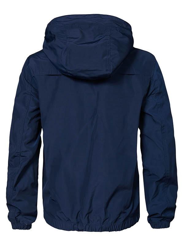Jongens Bomber jacket van Petrol Industries in de kleur Deep Navy in maat 176.
