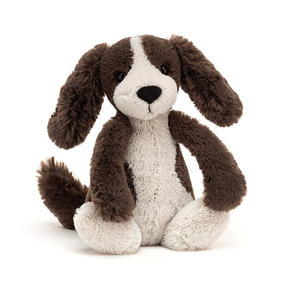 Jellycat Hond Bashful Fudge Puppy Small knuffel