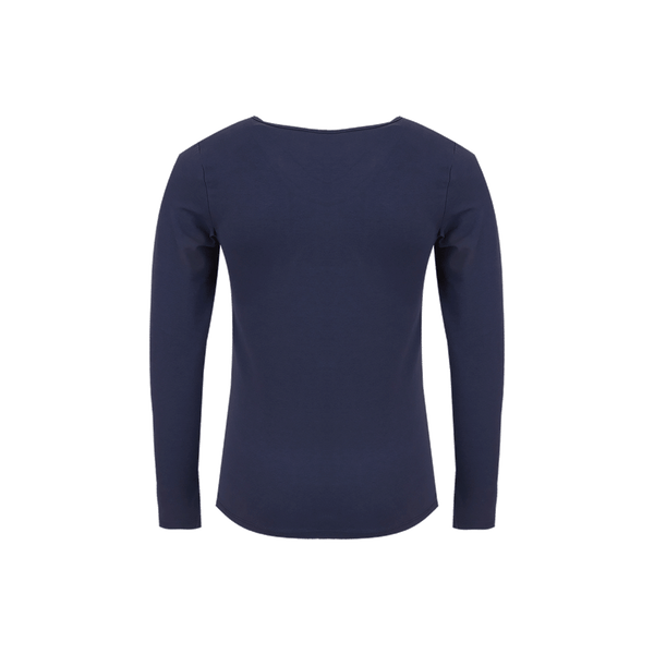 Someone T-Shirt Long Sleeves Someone Navy