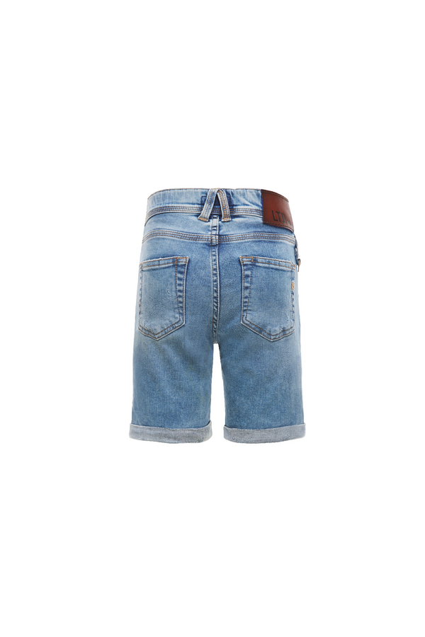 Jongens Corvin B Luanda Wash van LTB in de kleur Denim in maat 176.