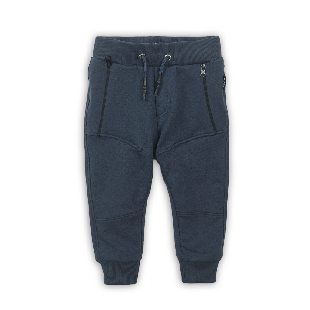 Jongens Jogging trousers van Koko Noko in de kleur Navy in maat 86.