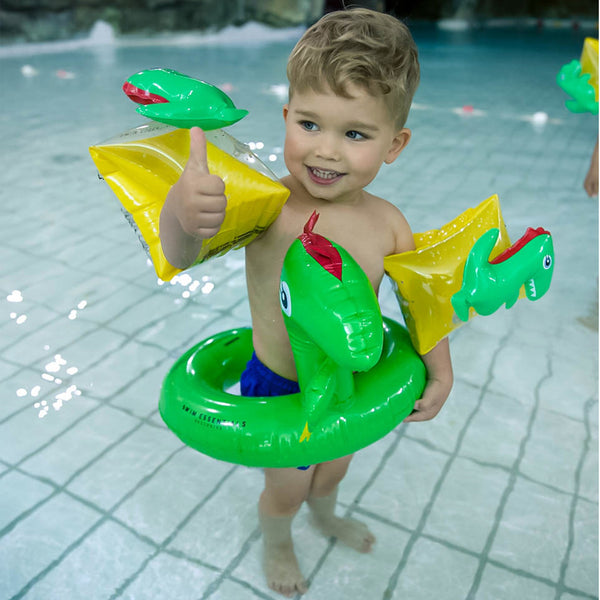 Swim Essentials - Dino kinder zwemband