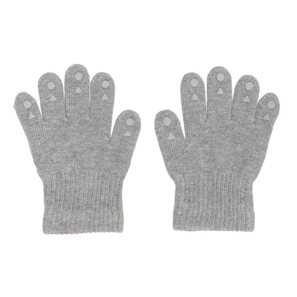 GoBabyGo - Grip Gloves Grey Melange