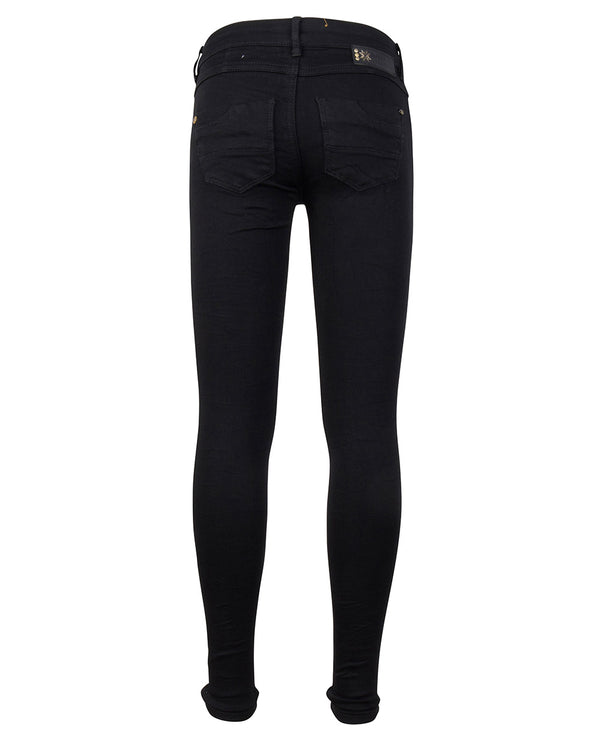 Indian Blue Jeans BLACK JILL FLEX SKINNY FIT