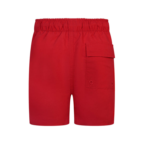 Jongens Classic Swim Shorts Tango Red van Lyle & Scott in de kleur Tango Red in maat 170-176.