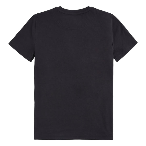 Jongens REFLECTIVE DETAIL T SHIRT van Lyle & Scott in de kleur Black in maat 170-176.