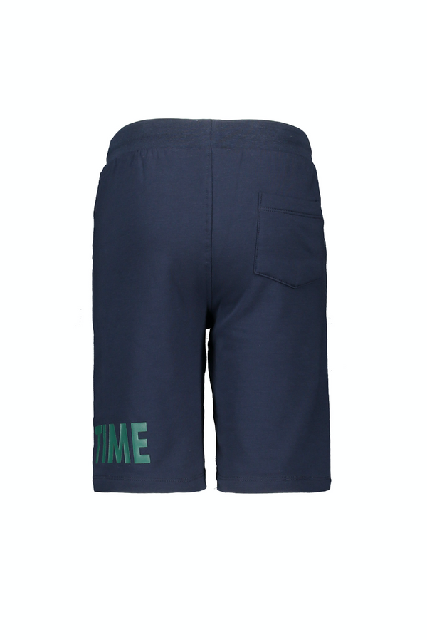 Jongens MT short van Moodstreet in de kleur Navy in maat 122, 128.