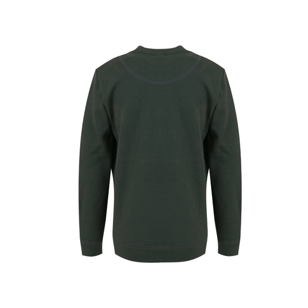 Someone Sweater Long Sleeves Someone Dark Green