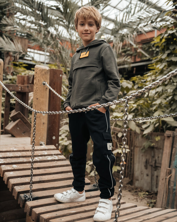 Malelions Junior Velcro Trackpants
