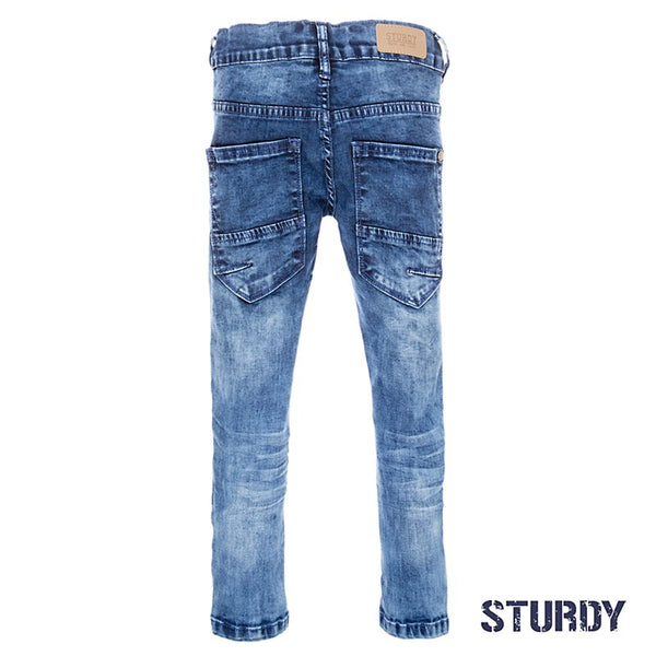 Sturdy Spijkerbroek blue denim power stretch