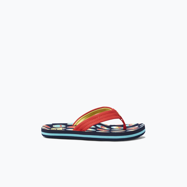 jongens KIDS AHI RED SURFER van Reef in de kleur Rood in maat 37, 38.