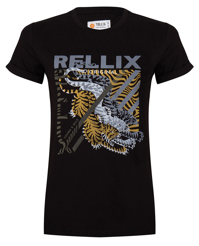 Rellix FITTED AW TEE