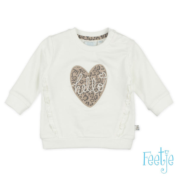 Baby, Offwhite, 86, Feetje,  Sweater, €15-€20