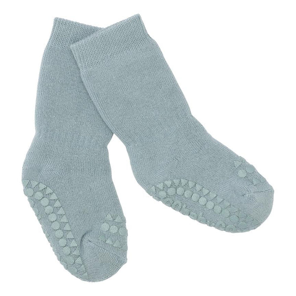 GoBabyGo Non-Slip socks Dusty Blue