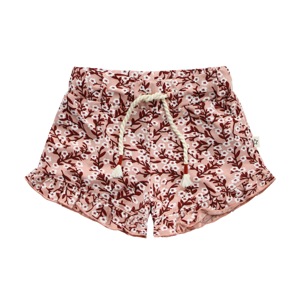 Your Wishes Floral - Ruffle Shorts