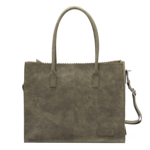 Zebra Natural Bag Lisa (army) Tassen
