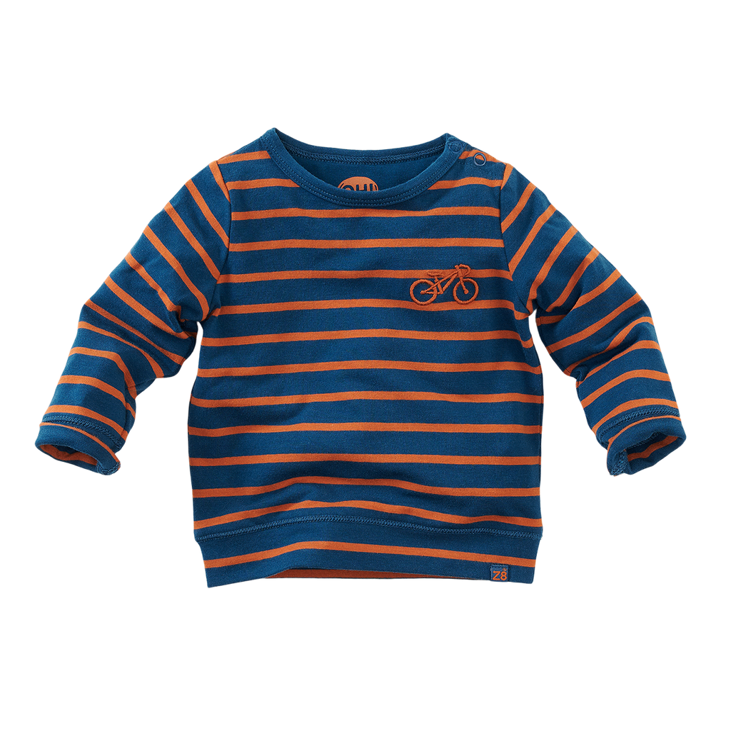 Unisexs Long sleeves Pittsburgh van Z8 in de kleur Donkerblauw in maat 74.