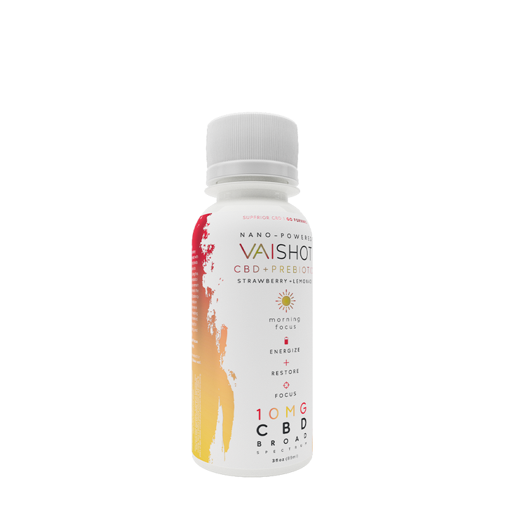 VAI Shot | 10mg CBD + Prebiotic | 12-pack
