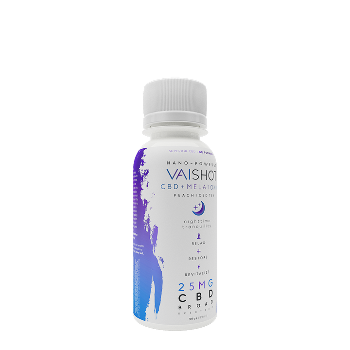 VAI Shot | 25mg CBD + Melatonin | 12-Pack