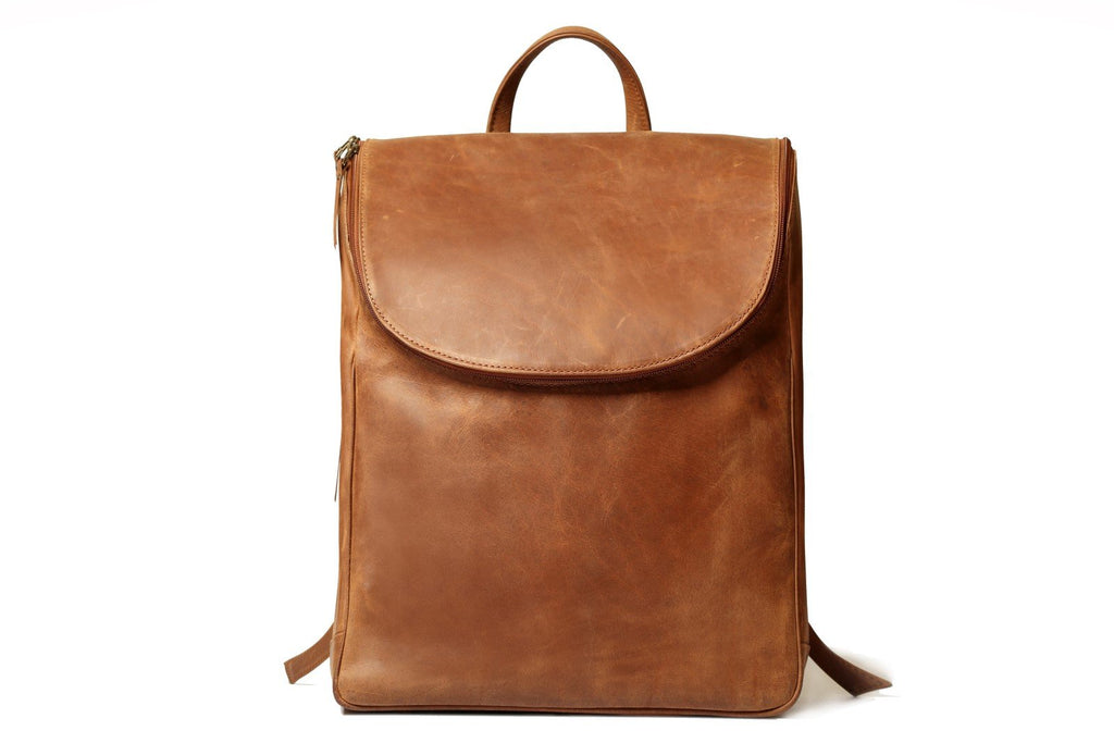 Icon LS Distressed Leather Backpack