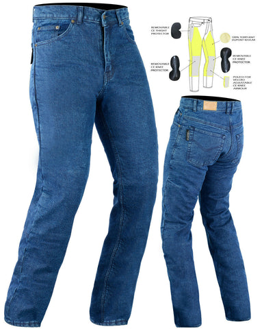 Rapid Blue Ladies Kevlar Denim
