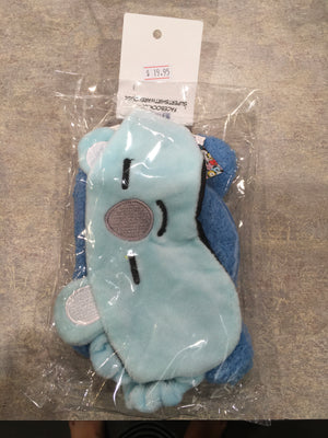 BT21 Plush purses and sleep mask pack