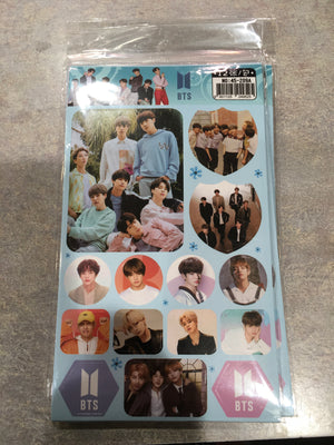 BTS sticker book