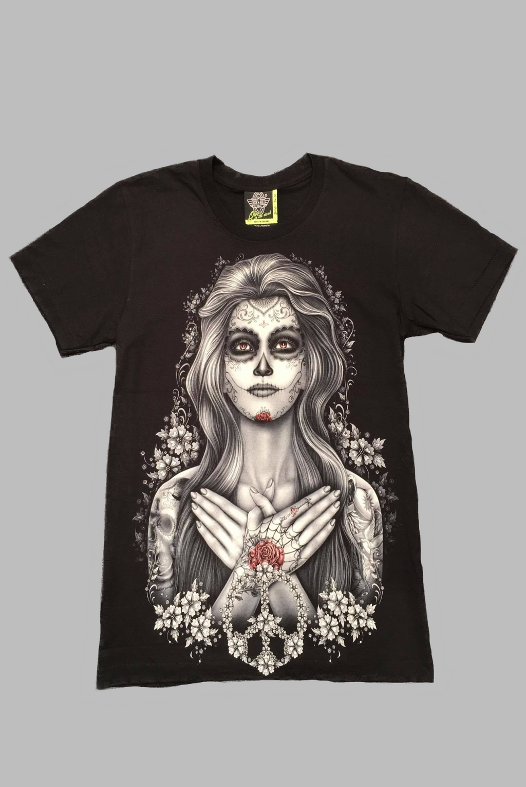 Hands on my Heart - Sugar Skull TShirt