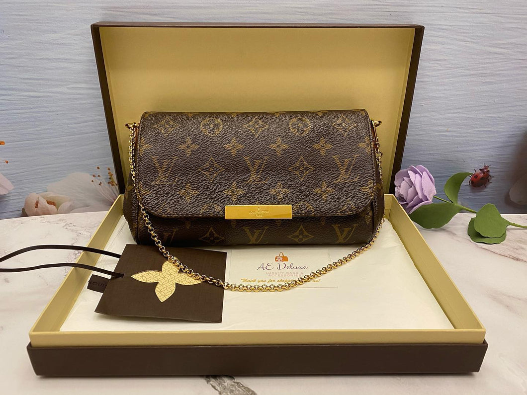 Louis Vuitton Favorite PM Monogram Bag (SD2145)