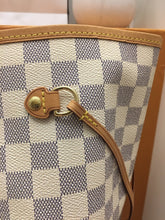 Load image into Gallery viewer, Louis Vuitton Neverfull GM Damier Azur Beige Tote