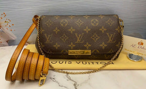 Louis Vuitton Favorite PM Monogram Bag (FL3182)